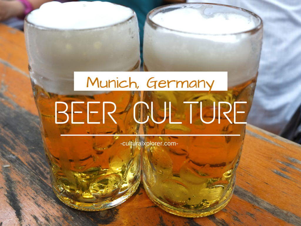 beer culture munich